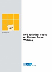 DVS Technical Codes on Electron Beam Welding