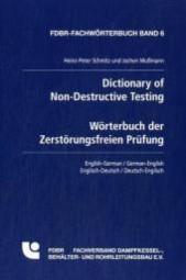 Dictionary of Non-Destructive Testing