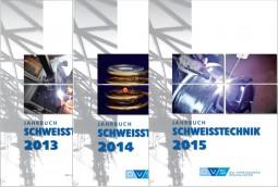 Sonderangebot Je 1 Jahrbuch Schweißtechnik 2013, 2014, 2015