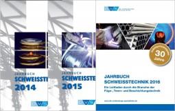 Sonderangebot Je 1 Jahrbuch Schweißtechnik 2014, 2015, 2016