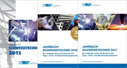 Sonderangebot Je 1 Jahrbuch Schweißtechnik 2015, 2016, 2017