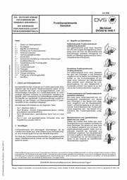 Funktionselemente - Überblick (DVS/EFB 3440-1)