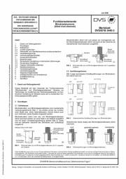 Funktionselemente - Blindnietelemente (blind rivet elements) (DVS/EFB 3440-3)