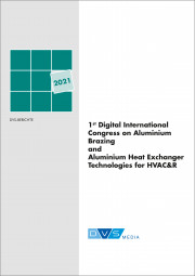 1st Digital International Congress on Aluminium Brazing and Aluminium Heat Exchanger Technologies for HVAC&R