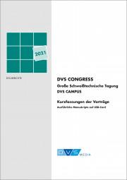 DVS CONGRESS 2021 Große Schweißtechnische Tagung DVS CAMPUS inkl. USB Card