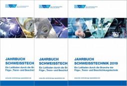 Sonderangebot Je 1 Jahrbuch Schweißtechnik 2017, 2018 & 2019