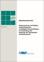 Untersuchung und Weiterentwicklung des Lichtbogen-Druckluftfugen in Verbindung mit Senkung der Schadstoffemissionswerte