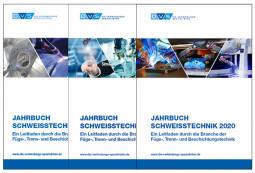 Sonderangebot Je 1 Jahrbuch Schweißtechnik 2018, 2019 & 2020