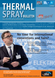 THERMAL SPRAY BULLETIN, Einzelheft