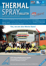 THERMAL SPRAY BULLETIN, Probeheft