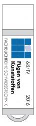 USB-Stick Taschenbuch DVS-Merkblätter und -Richtlinien: Fügen von Kunststoffen