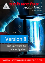 schweissassistent / weldassistant Version 8 PRO-ISO